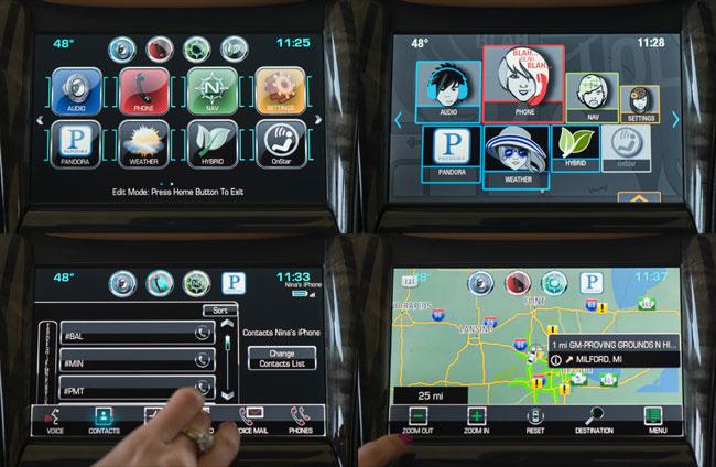 голосовое управление для автомобилей Chevrolet