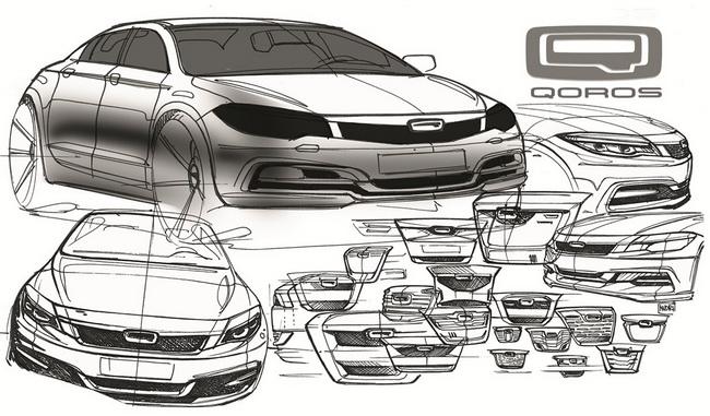 Новые китайские автомобили Qoros