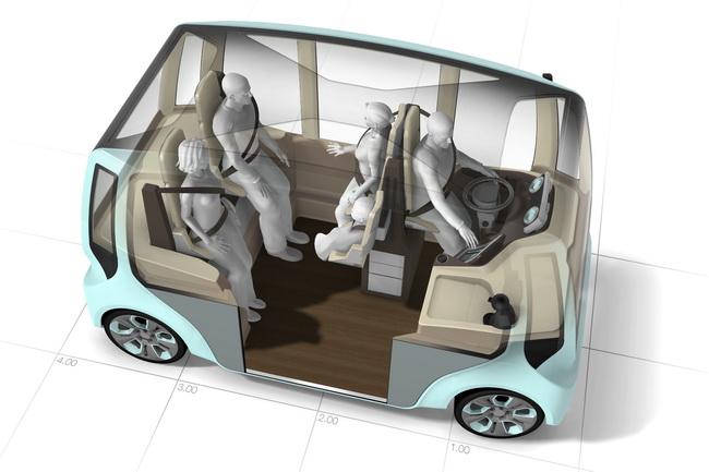 Микроавтобус microMAX от тюнинг-ателье Rinspeed
