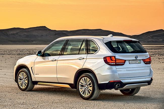 Повнорозмірний SUV - BMW X5