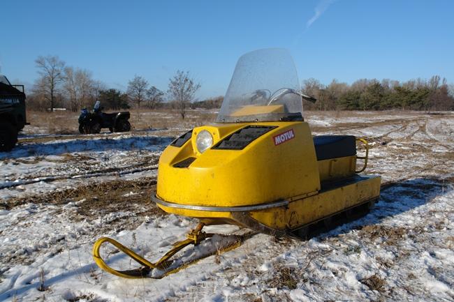 Тест-драйв советского снегохода «Буран»