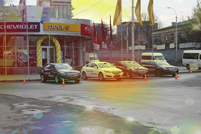 «Дни открытых дверей с новым Opel Insignia» в Запорожье