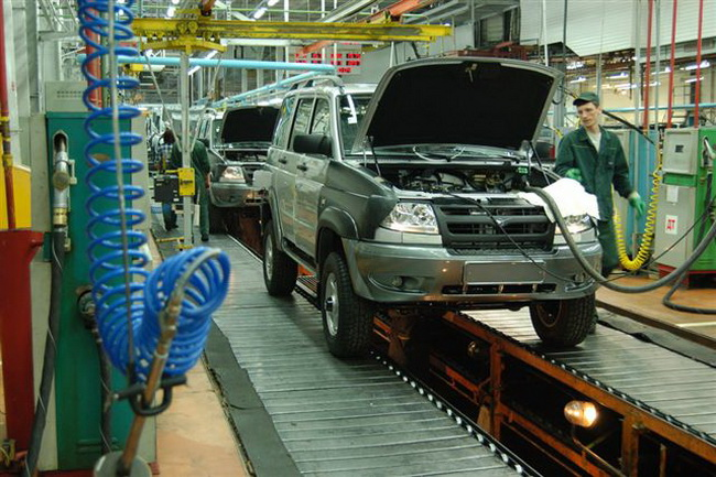 УАЗ остановит конвейер