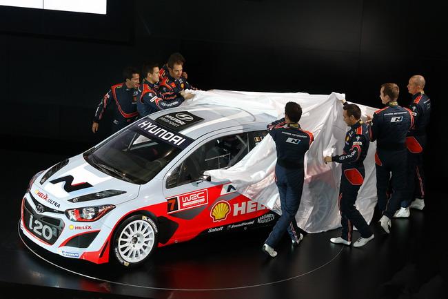 WRC: Hyundai официально представила команду, огласив пилотский состав, титульного спонсора и боевую раскраску