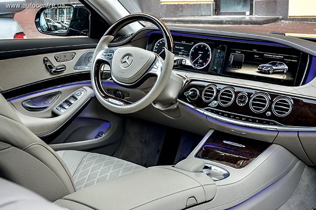 Тест-драйв Mercedes-Benz S 500 Long