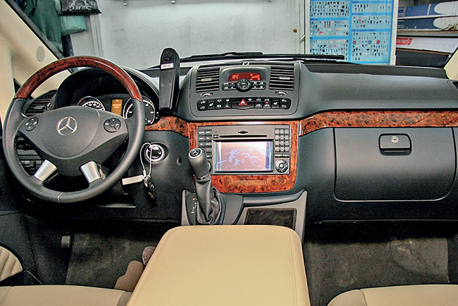 Тюнинг Mercedes-Benz Viano Ambiente Extralong