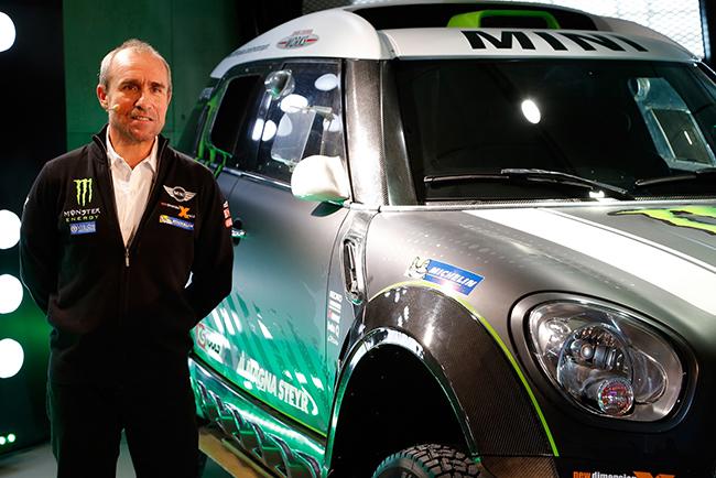 Команда X-raid на автомобилях Mini ALL4 Racing примет участие в ралли «Дакар»