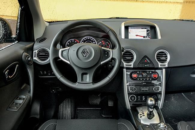 Тест-драйв Renault Koleos 2.0 dCi