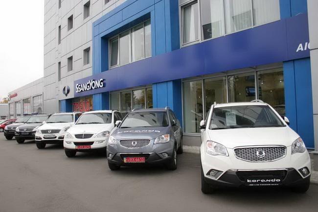 Сезон специальных предложений на автомобили SsangYong