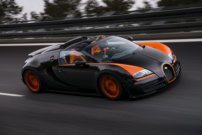 Вugatti Veyron Grand Sport Vitesse World Record