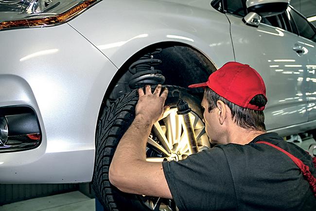 Обслуживание автомобиля с дизельным двигателем