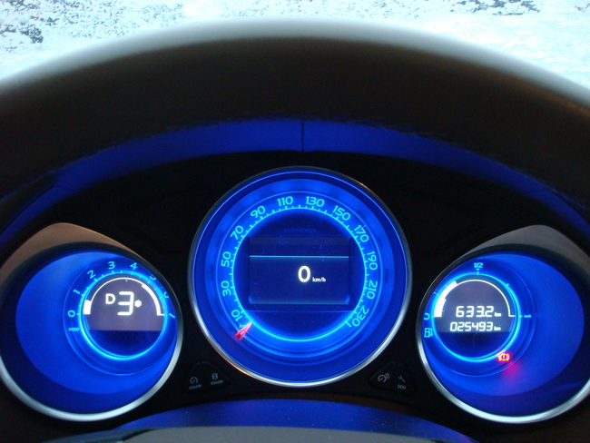 Citroen DS4: французский люкс-дизель в украинских снегах