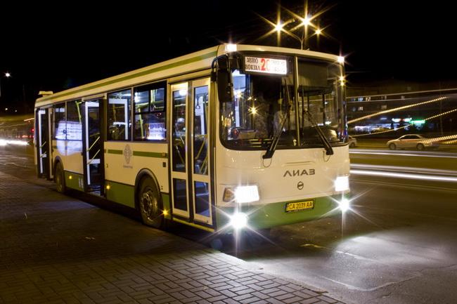 Автобусы ЛиАЗ в Черкассах