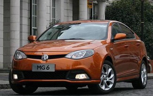 На ряд моделей бренда MG действуют скидки
