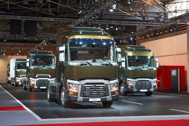 Renault Trucks на виставці Solutrans