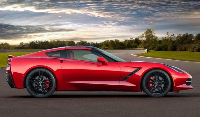 Детройт автошоу 2013: Chevrolet Corvette Stingray