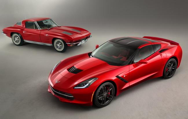 НДетройт автошоу 2013: Chevrolet Corvette Stingray