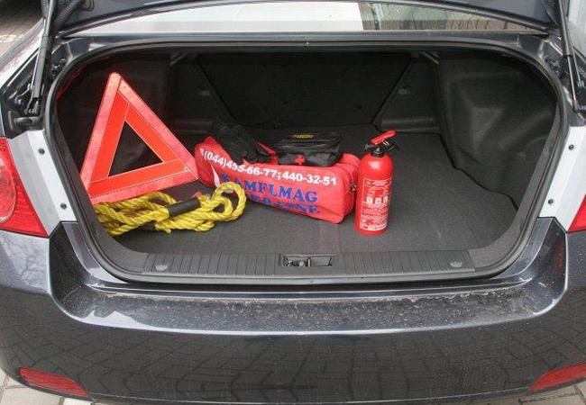 багажник Chevrolet Epica