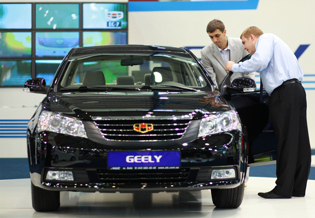 продажа Geely в Украине