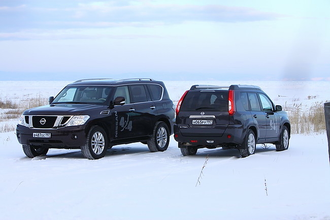 Nissan Patrol, Nissan X-Trail