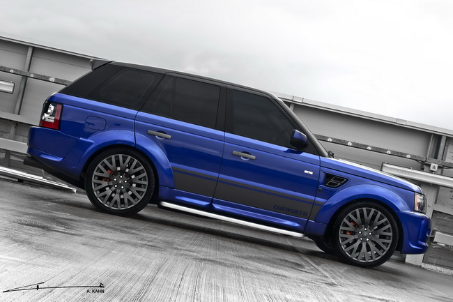 Range Rover Imperial Blue Cosworth edition
