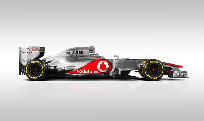 презентация болида McLaren MP4-27