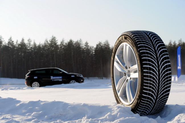 новые зимние шины Michelin