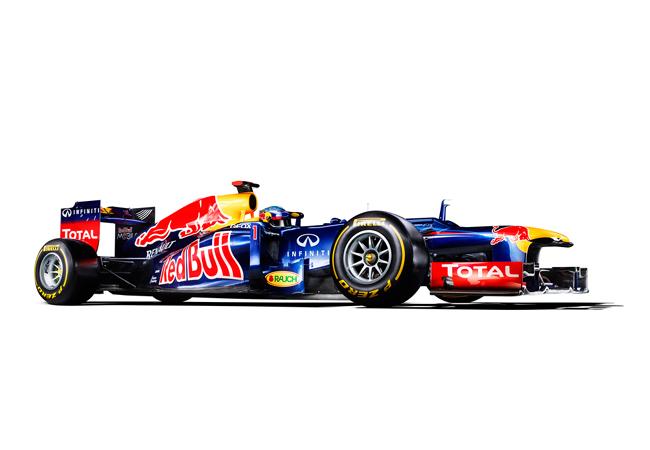 новый болид команды Red Bull