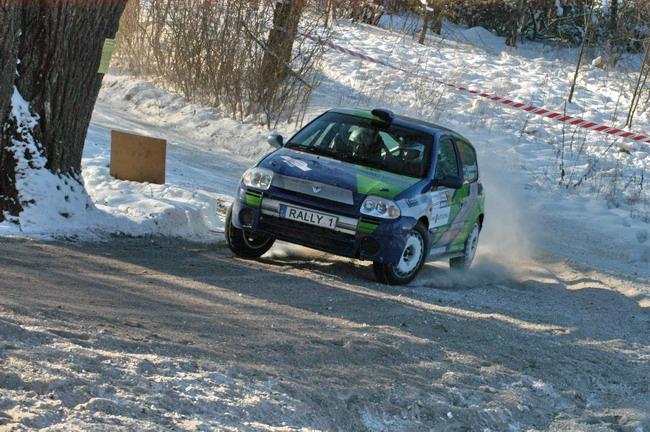 украинские гонщики на зимних ралли