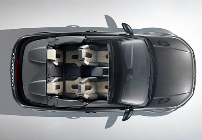 кабриолет Range Rover Evoque