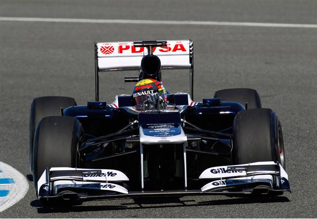 Новый болид Williams Renault FW34