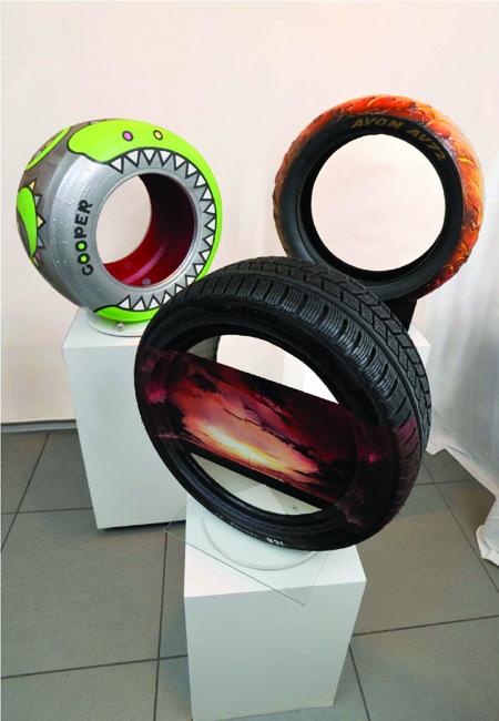 разрисованные шины