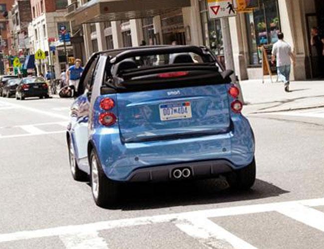 модель Smart ForTwo Electric Drive