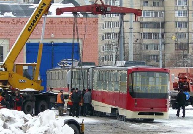роллейбусная линия Бровары - Киев