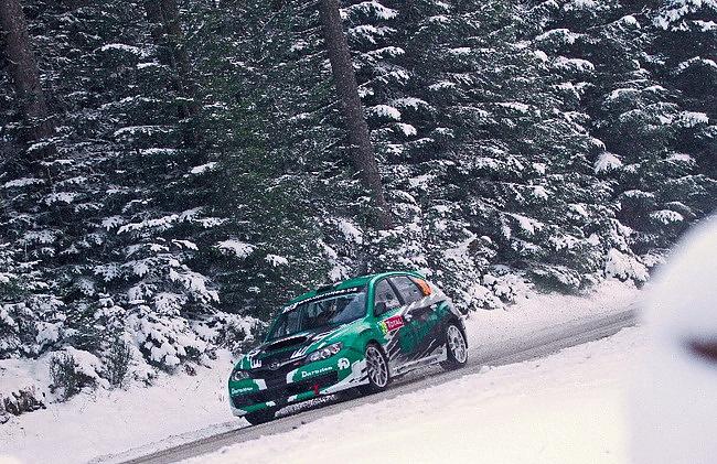 WRC 2013: украинцы на ралли Швеции