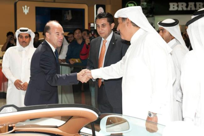 Автосалон в Катаре: Bugatti Veyron Grand Sport Vitesse