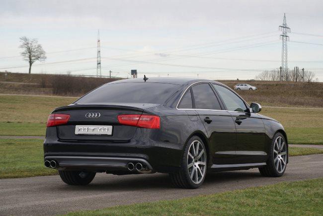 Седан Audi S6: тюнинг MTM