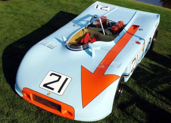 Porsche 908/3 1970 года