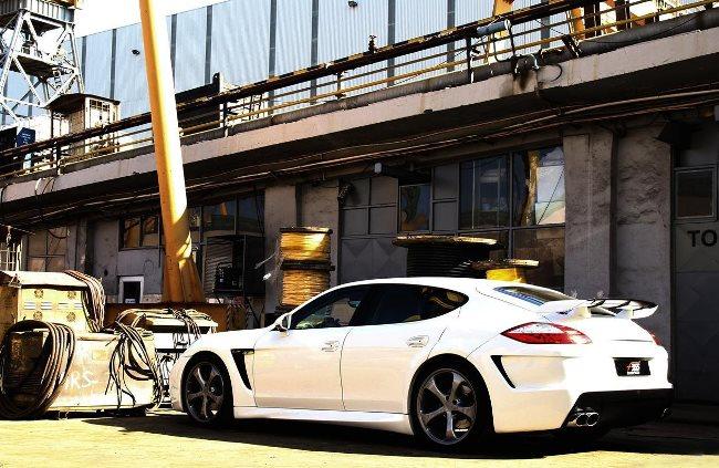 Характеристики Porsche Panamera улучшены в F355 Automotive Technic
