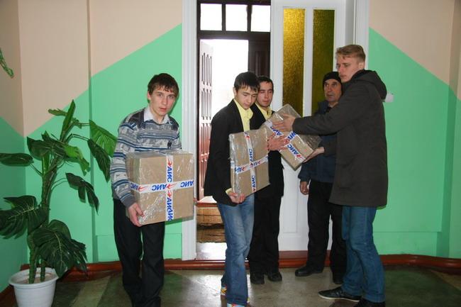 благотворительный автопробег по Украине «АИС-детям»