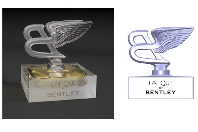 Lalique for Bentley Crystal Edition: духи с запахом кожи и дерева