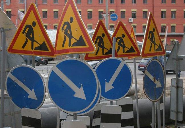ГАИ Донецка ищет дорожные ямы