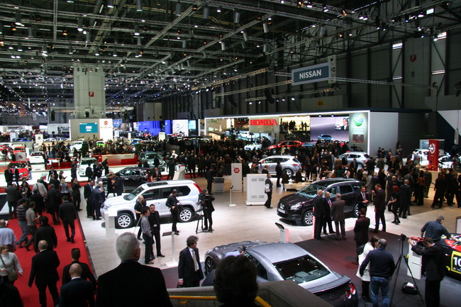 Женевский автосалон 2013 приглашает гостей