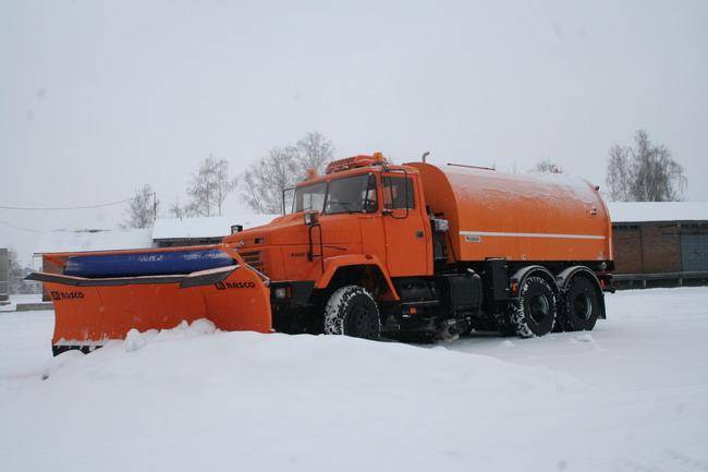 КрАЗ-63221  «Дорожник» (6х6)