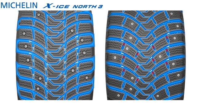 Зимние шины Michelin X-ICE North