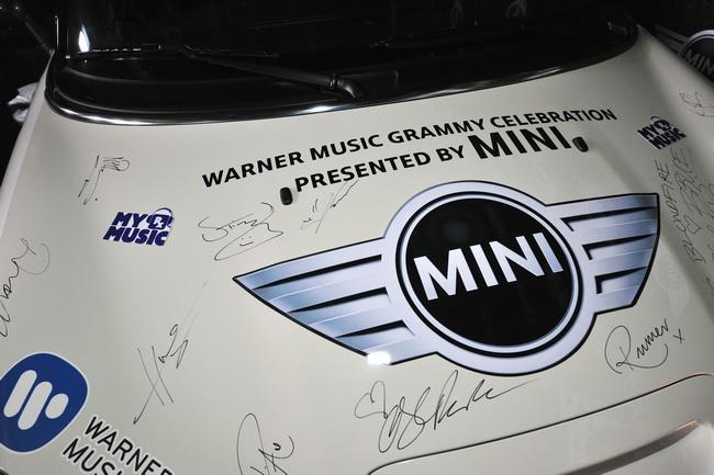 Автомобили Mini на Grammy 2013