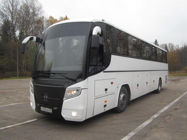 Автобусы Олимпиады: ГОЛАЗ-52911 «Круиз» на шасси Scania