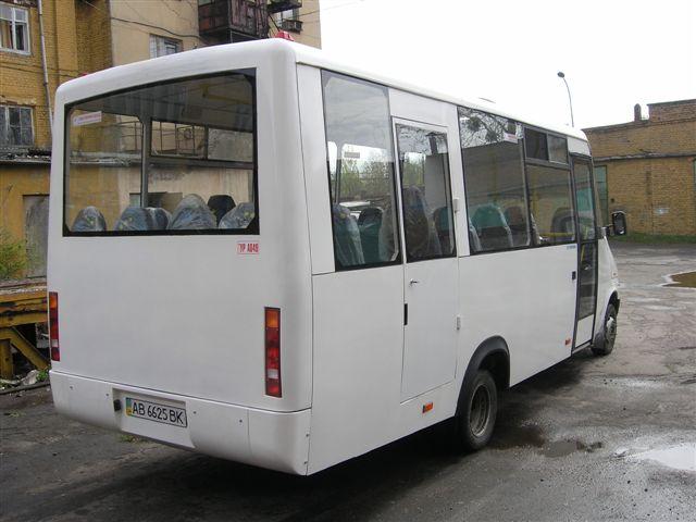 львовский автобус «Тур» на шасси Mercedes-Benz Sprinter