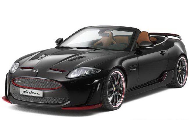 Jaguar XKR-S Convertible: тюнинг Arden