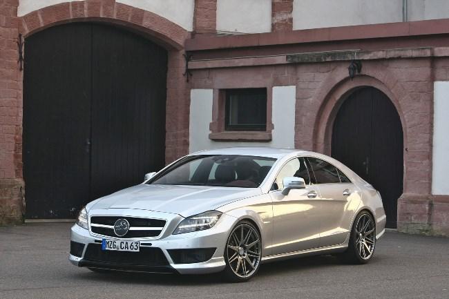 Тюнинг: Carlsson CK63 RSR на базе Mercedes